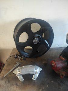 Big Brakes for the S124 V8 turbo 12