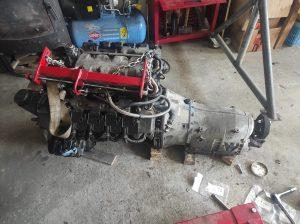 Drivetrain fitment in donor V8 turbo 3