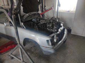 Drivetrain fitment in donor V8 turbo 4