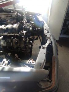 Drivetrain fitment in donor V8 turbo 8