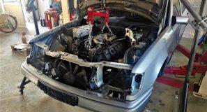 Drivetrain fitment in donor V8 turbo 10