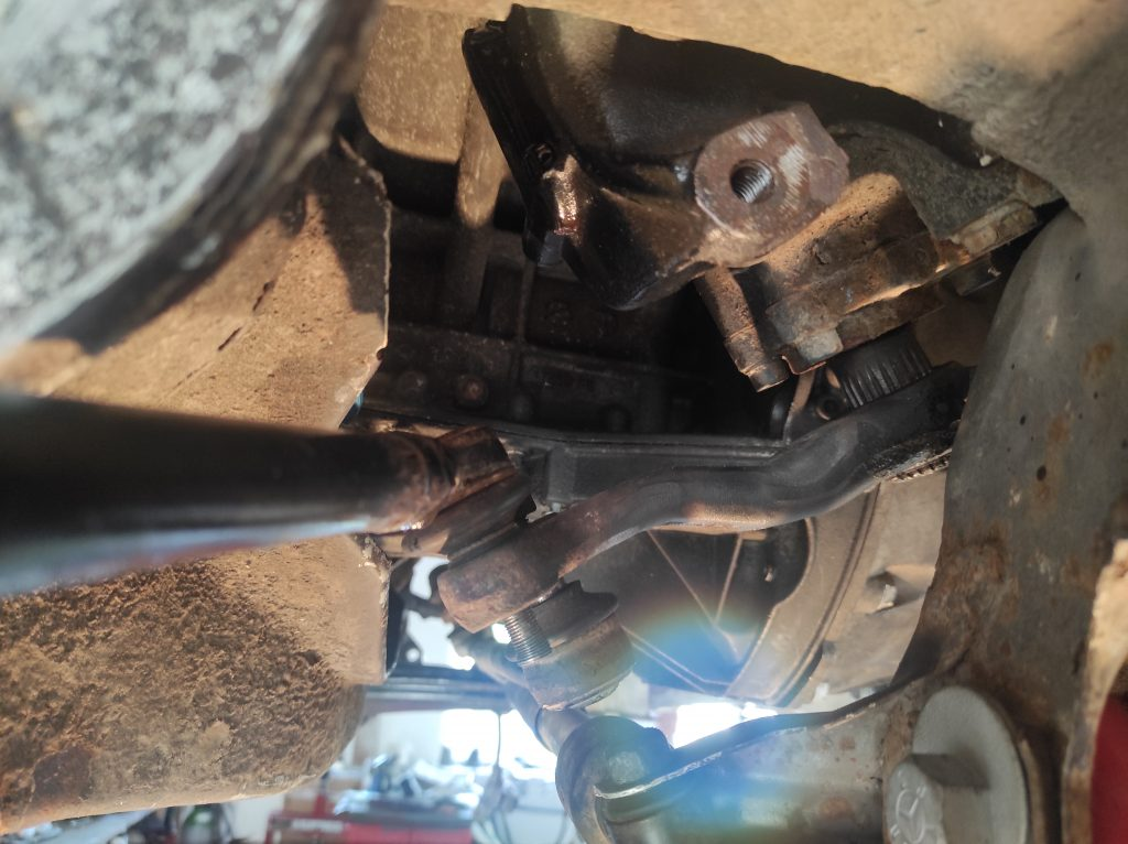 M113 turbo manifolds done & steeringbox clearance solved 7