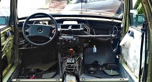 W124 HOW TO: remove dashboard + centerconsole + parts attached 6